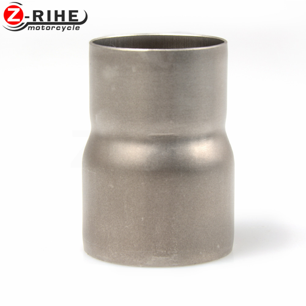 Universal Motorcycle Scooter offroad Modified exhaust Muffler pipe Adapter Reducer Connector Pipe Tube for Yamaha Suzuki Bmw ect