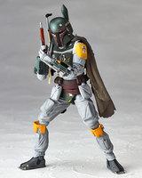 Movie Figure 16 CM Star Wars REVO 005 Boba Fett PVC Action Figure Collectible Model Toy