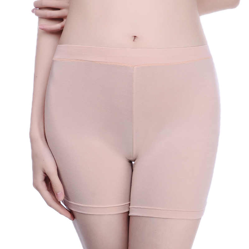 f247c535d4a6 Women Safety Short Pants Breathable Panties Underwear Seamless Big Size  Ladies Safety Boxer Anti-Bacterial
