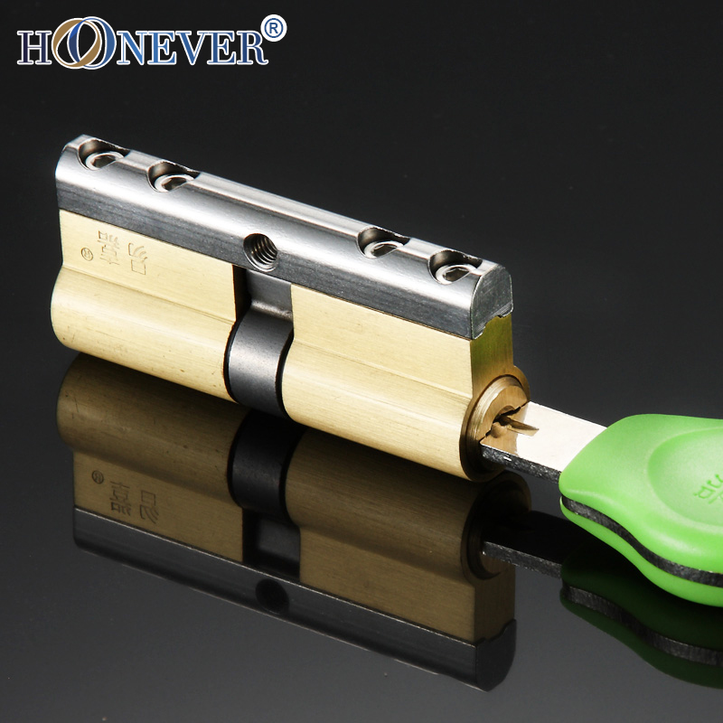 6 keys c grade copper core antitheft door locks cylinder security locking cylinders 70mm 75mm 80mm 85mm 90mm antitheft lock