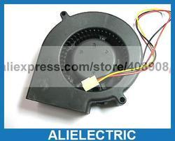 4 sztuk bezszczotkowy wentylator dmuchawy prądu stałego 9733 3 przewody 12 V