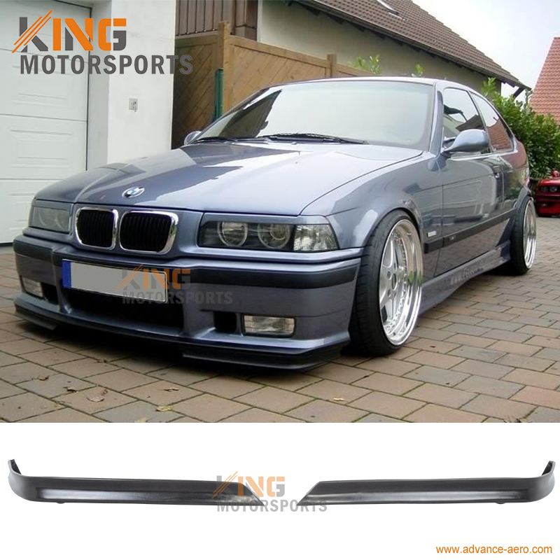 For 1992 1993 1994 1995 1996 1997 1998 BMW E36 M3 ONLY FRONT BUMPER LIP URETHANE balex пусеты
