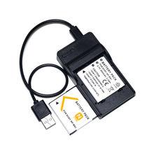 Conenset 2×650 mah bateria para sony dsc-w610 dsc-w620 dsc-w630 dsc-w670 dsc-w690 dsc-w650 câmera dsc-wx60 dsc-wx80
