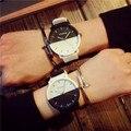 2017 Modelo Silicone Quartz Relógio de Pulso do Relógio Dos Homens Clássicos Preto Branco para o Homem Relógio Masculino Estudante Da Escola Das Meninas do Menino Relógios Baratos