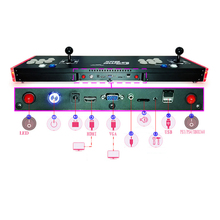Pandora Jamma multi game machine ,1300 game in 1 arcade game console цена и фото