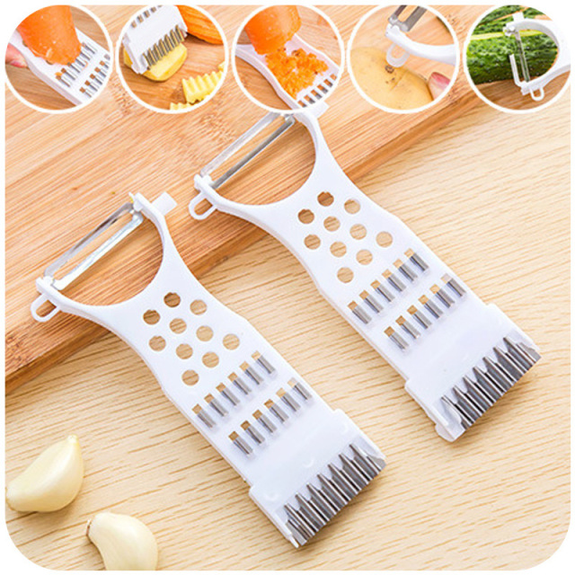 TTLIFE New Multi-function Vegetable Mandoline Slicer Cutter Chopper Carrot Cucumber Peeler Rolling kitchen Gadget Cozinha Biscoi