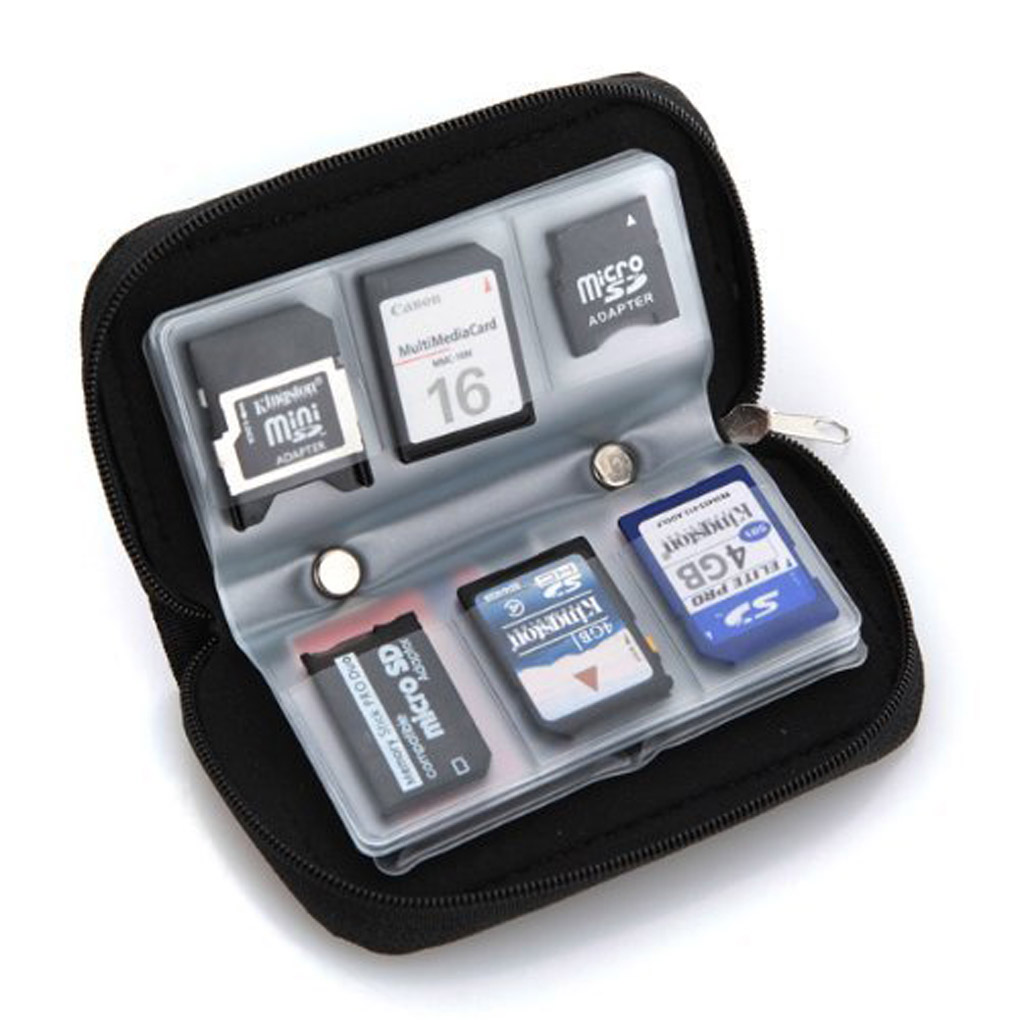 Universal Electronics Accessories Organizer/Travel Gadget Bag for Cables, Memory Cards, Flash Hard Drive Memory Card Bag