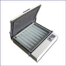 tabletop screen printing exposure unit tabletop plate exposure with vacuum for silk screen frame