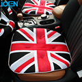 New Fashion LOEN Breathable Mesh Cloth UK Flag Printed Mesh Cloth Car Seat Cushion Super Soft  Car Seat Cover For Universal Cars