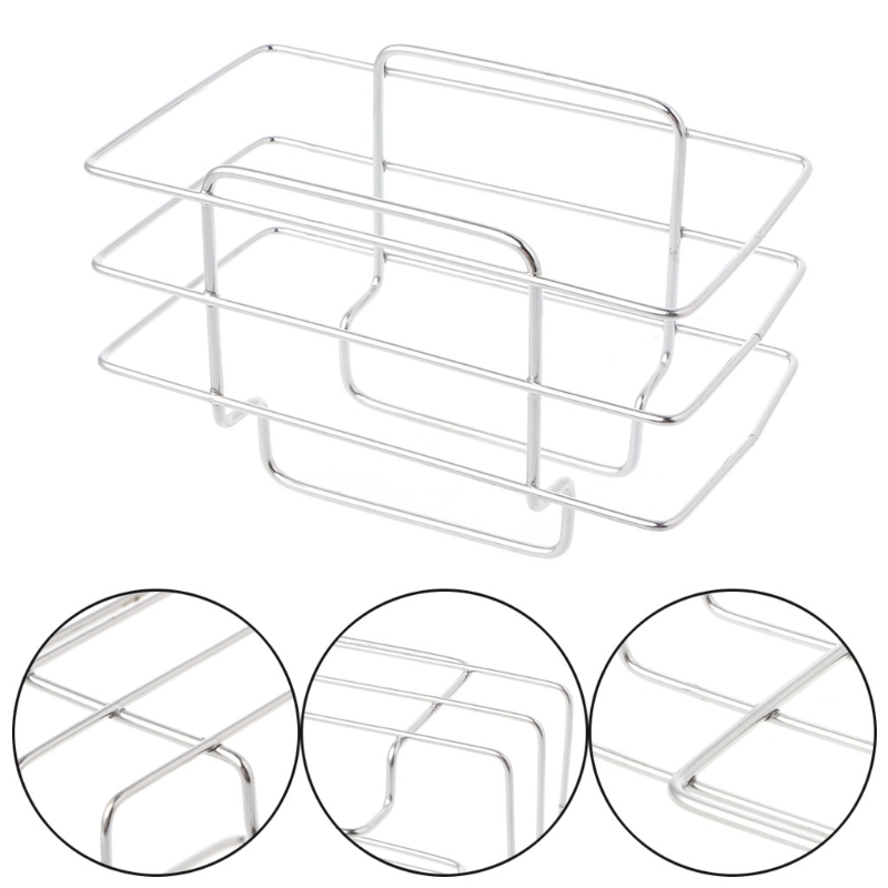 Kitchen Sink Organizer Soap Brush Drainer Rack Sponge Holder Home Storage Organization Pantry Rack Kitchen Organizer #20/17W