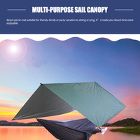 Garden Sail Canopy Rain Fly Sun Shade Sail Canopy UV Resistant Waterproof Shade Cloth Picnic Mat Beach Outdoor Camping Awning