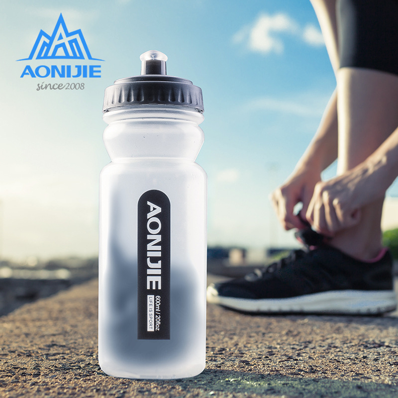 600ml Portable Water Bottles Outdoor Sport Silicone Folding Drinkware Camping Traveling Cycling Water Bag