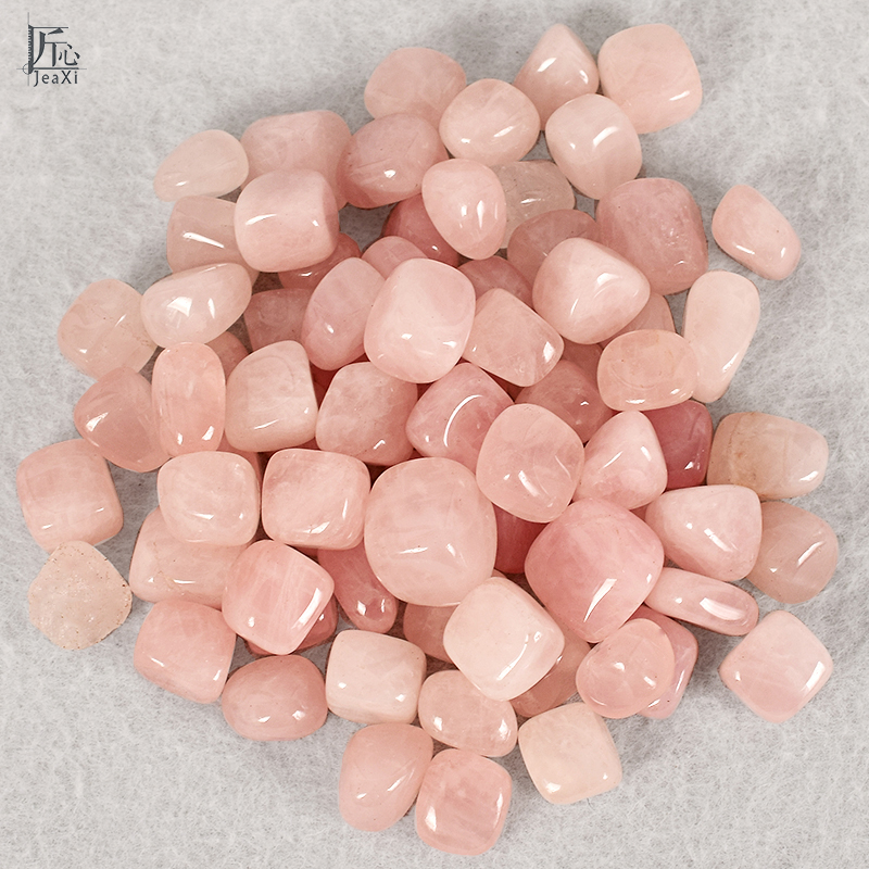Tumbled Stones rose quartz Gemstone Rock and Minerals Crystal and natural Tumbled Stone for Chakra Healing fengshui decortion