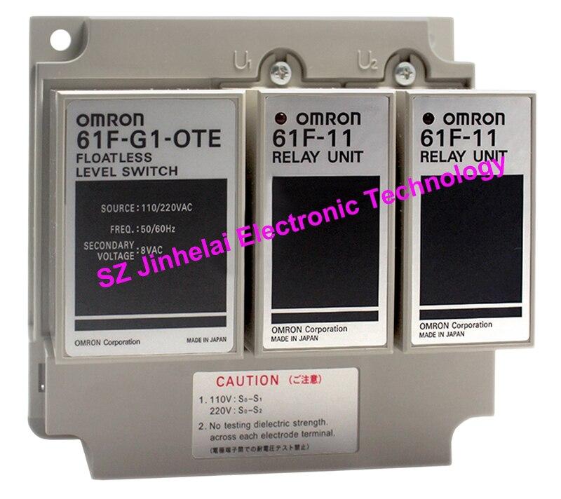 Nuovo e originale 61F-G1-OTE 110/220VAC OMRON interruttore di livello del Liquido 61F-G1-0TE AC110/220 V regolatore di livello del LiquidoNuovo e originale 61F-G1-OTE 110/220VAC OMRON interruttore di livello del Liquido 61F-G1-0TE AC110/220 V regolatore di livello del Liquido