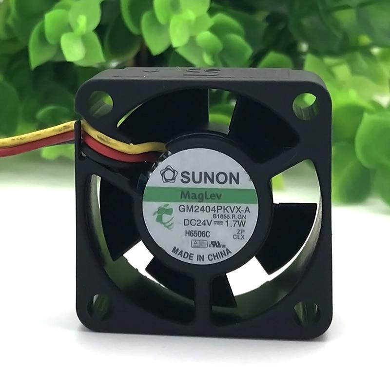 SUNON GM2404PKVX-A DC 24V 1.7W 4CM 4020 40*40*20MM 3 line Inverter Cooling Fan