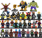 30pcs Avengers Infinity War Figure Set Legoingly Super Hero Iron Thor Thanos Peter Hulk Black Panther Building Blocks Model Toys