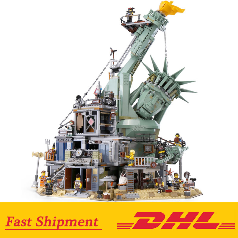 DHL 45014 Movie 3560pcs compatible with 70840 Welcome to APOCALYPSEBURG Set Building Blocks Bricks Kids Toys