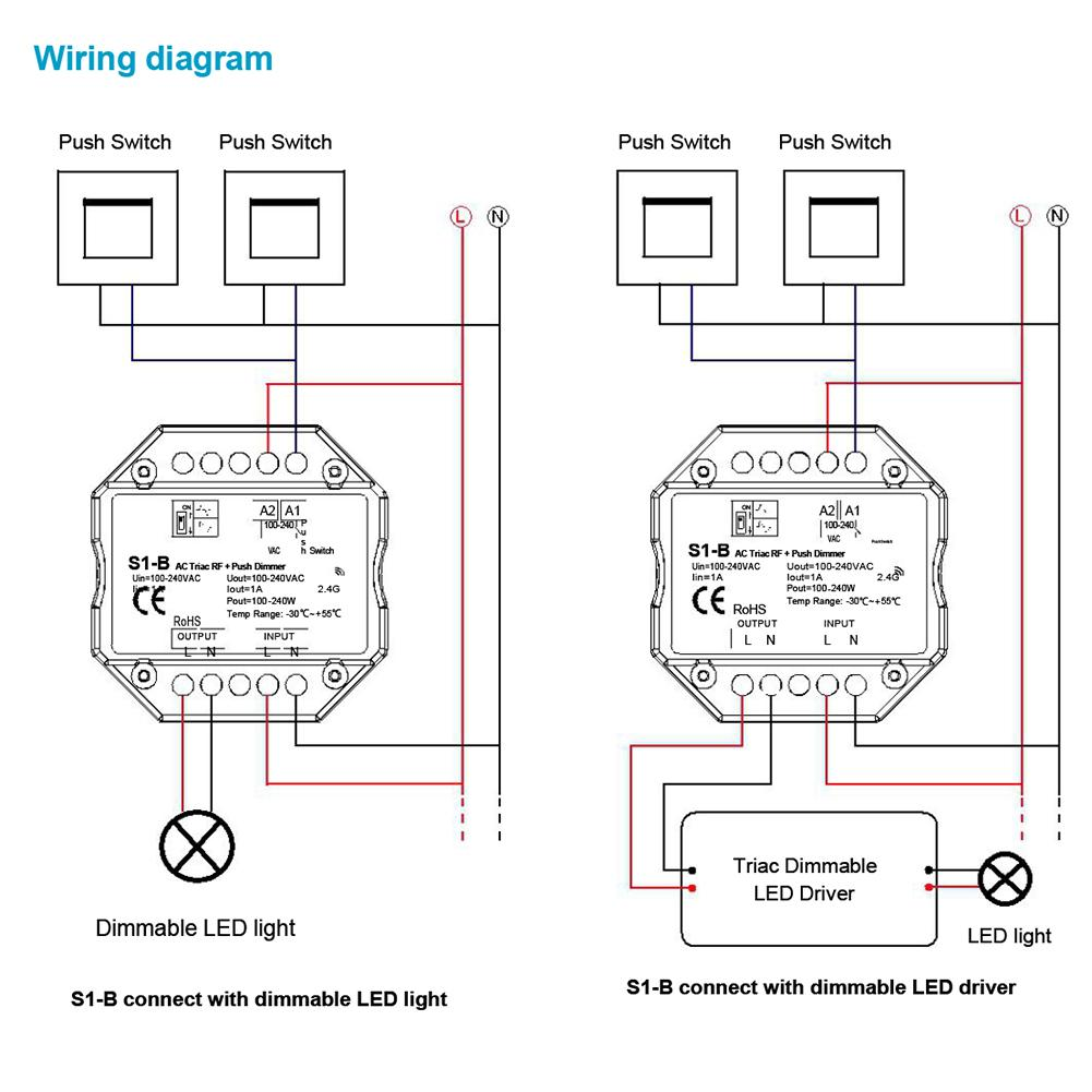 S1 B Phase Cut Light Modulator Rf Control Scr Dimmer 220v Switch For Dc Triacs Diagram Schematic Led Lamps Ac85265v In Dimmers From Lights Lighting On Alibaba Group
