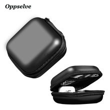 Oppselve Portable Mobile phone Accessories Storage package Mini Case for Usb cable Hard Bag Earphone Box for charger SD TF Cards