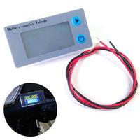 10 100V LCD Car Acid Lead Lithium Battery Capacity Indicator Universal Digital Voltmeter Voltage Tester Monitor JS C33|Voltage Meters| |  -