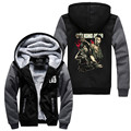 Hot New The Walking Dead Walking Corpse Fleeces Hoodie Logo Winter JiaRong Fleece Mens Sweatshirts Free Shipping