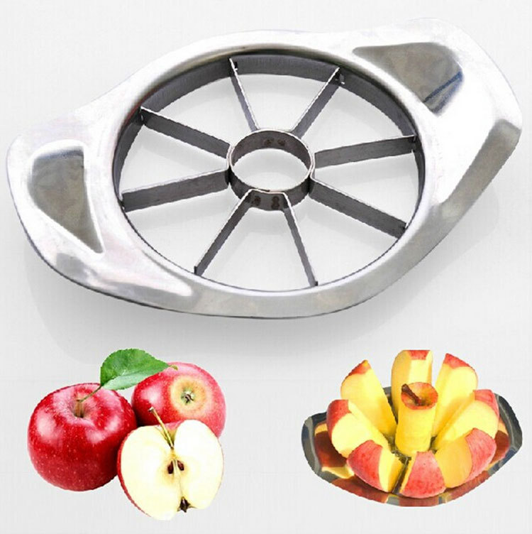 Stainless Steel Apple Slicer Fruit Vegetable Tools Kitchen Accessories  SQ2065(China)