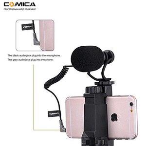 Image 4 - Comica Smartphone Video Kit CVM VM10 K2 Filmmaker Mini Tripod with Mini Video Microphone Rig for iPhone Samsung Huawei Phones