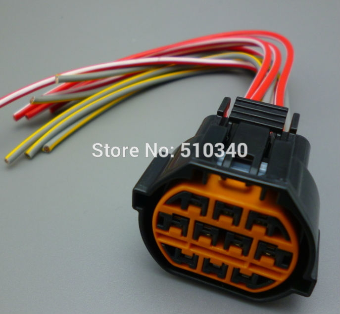 online buy whole hyundai wiring harness from hyundai for hyundai for kia k2 headlight plug 10p 10pin wire harness electrical connector