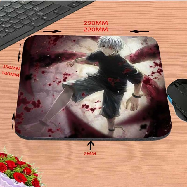 Tokyo Ghoul Rubber Print Mouse Mat Gaming Pads