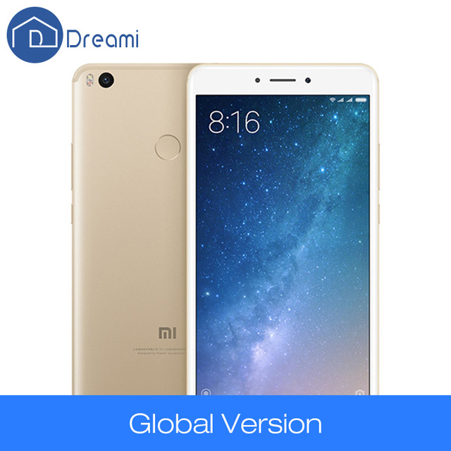 Dreami Original Xiaomi Mi Max 2 Global Version 4GB 64GB 5300mAh  Max2 Snapdragon 625 Mobile Phone