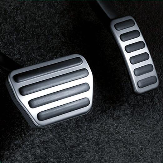 OEM стайлинга автомобилей Бесплатная доставка газа педаль тормоза ускоритель подножку чехол для Land Rover Range Rover Sport 2013- 2016