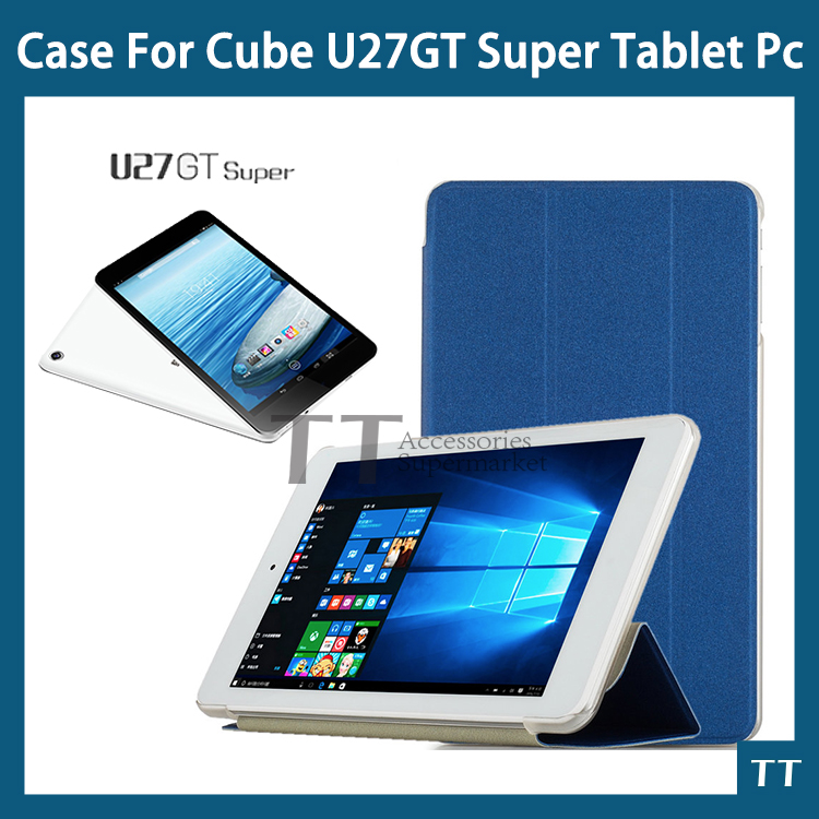 For Newest Cube U27GT Super case Fashion Ultra-thin case For cube u33gt/Cube U27GT Super + free Screen Protector + Touch pen cube performance