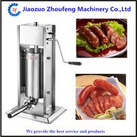 Commercial home use hot dog sausage filling stuffer machine for sale