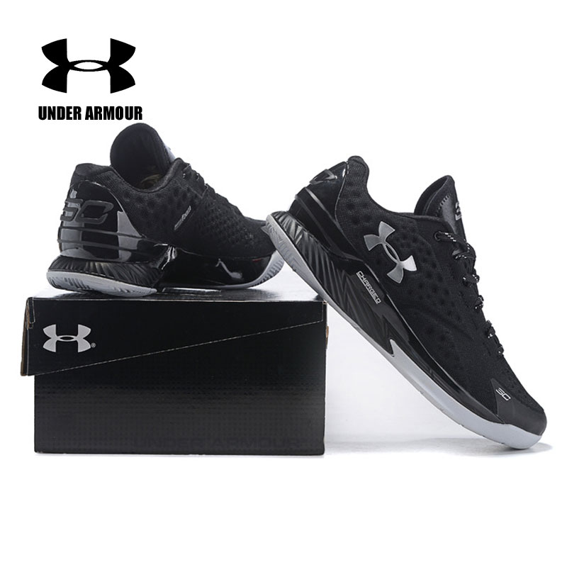 Men's Shoes Athletic Shoes Under Armour Mens Curry 5 Basketball Shoes Black Sports Breathable Lightweight Attractive Designs;