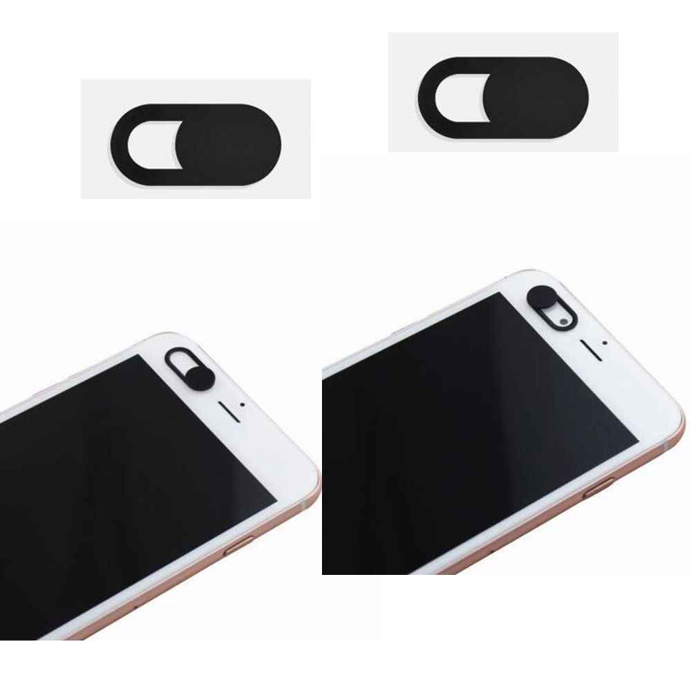 3PCS White WebCam Cover Shutter Slider Plastic Camera Cover for Web Cam IPhone PC Laptops Mobile Phone Lens Privacy Sticker