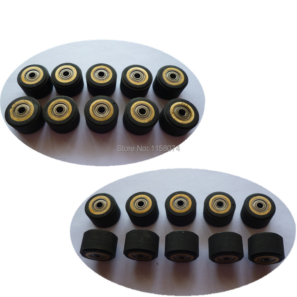 10pcs Pinch Roller 3x11x16mm Roller Bearing Copper Core