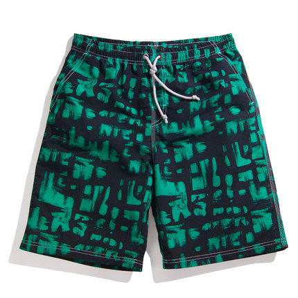 2016 Verano de Secado rápido Badeshorts Herren Suelta Estampado De Moda Pantalones Cortos Para Hombre