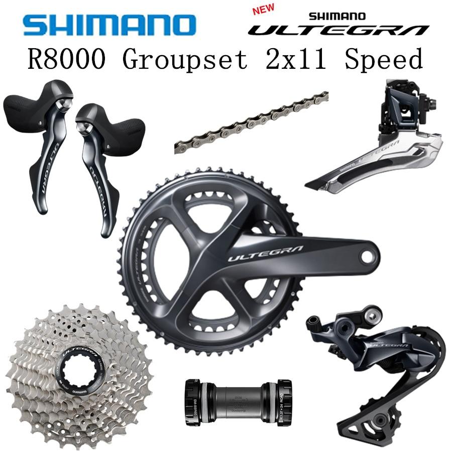 SHIMANO R8000 Groupset ULTEGRA R8000 6800 Groupset Derailleurs ROAD Bicycle 50 34 52 36 53 39T