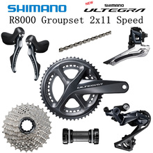 Groupset ULTEGRA ROAD R8000 Derailleurs Bicycle 170mm 52-36 53-39T 11-25T 6800 SHIMANO