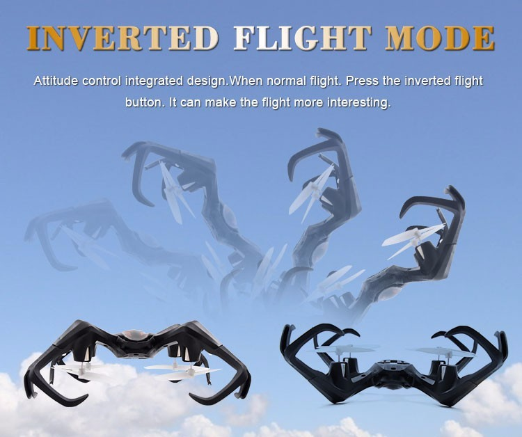 Inverted Flight Drones 3D flip/ Two-Speed control/ Fantasy LED Lights/ Hover remote control Quadcopter RC aircraf dron drone flight volume two