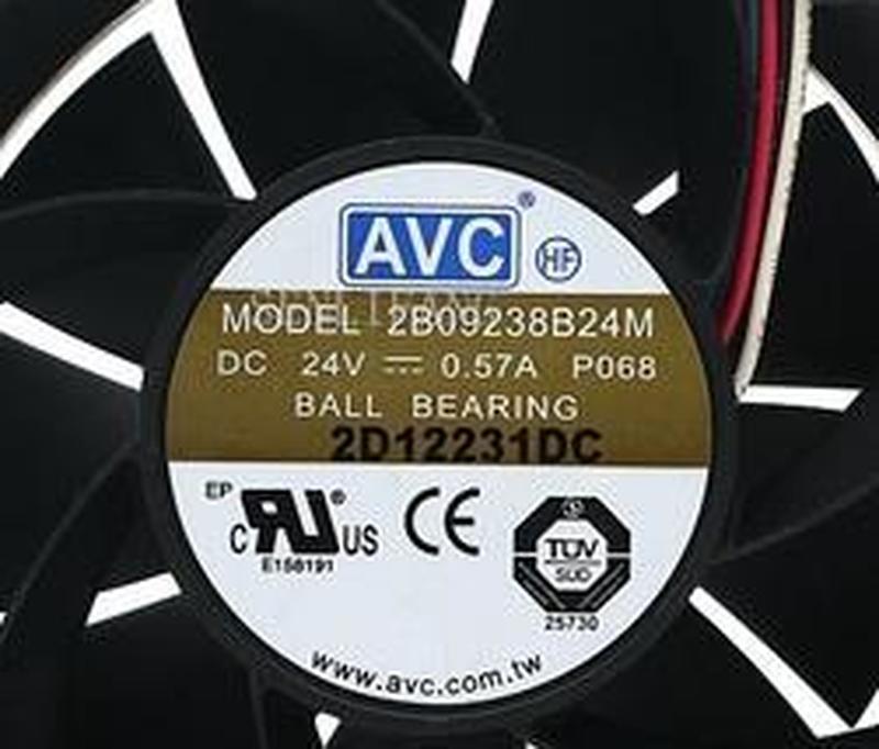 9CM 9238 DC 24V 0.57A 2B09238B24M P068 92*92*38mm 4-lines Heatsink Cooling Fan