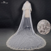 RSV17 Bridal Veil Lace Applique Gold