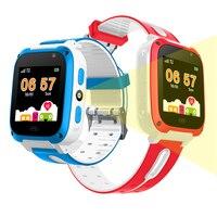 WISHDOIT светодио дный Цвет Сенсорный экран Детские умные часы фунтов позиционирования трекер дети часы SOS безопасности Детские часы Поддержка