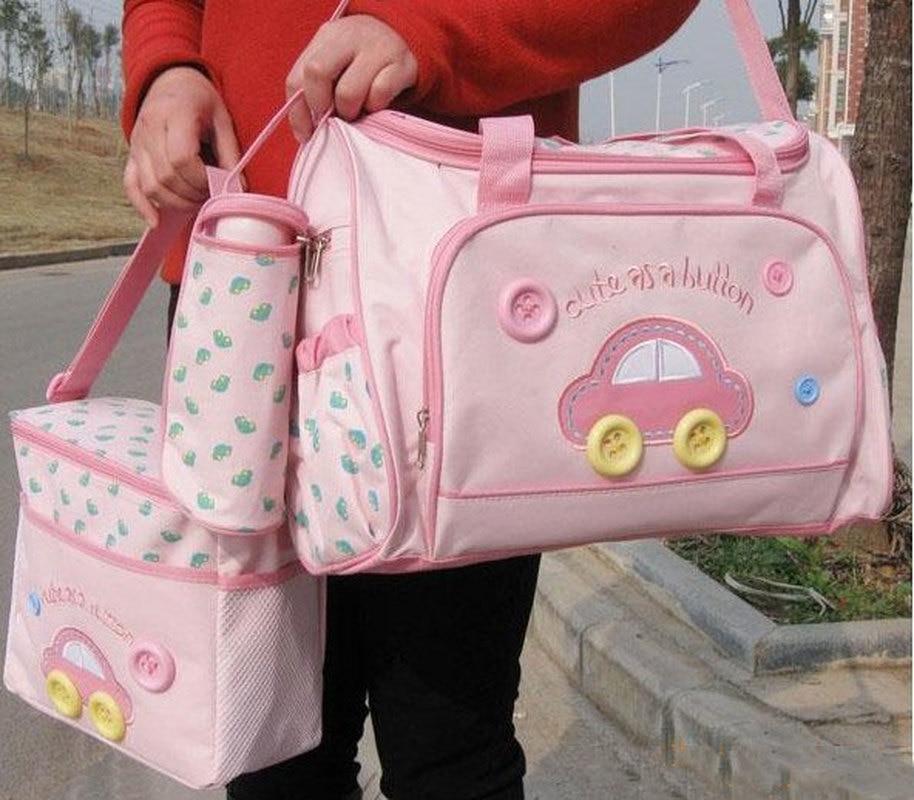 Baby Baby Accesorii pentru copii Baby Diaper Bag 3pcs Set pentru Moms - Activitățile și echipamentul copiilor
