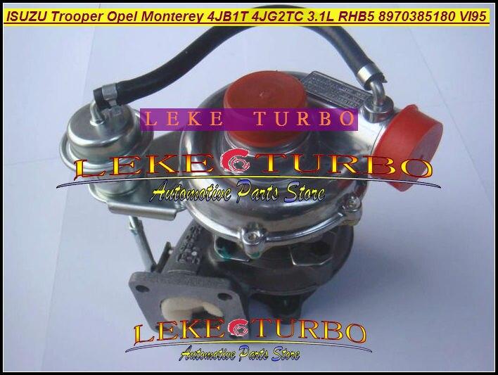 RHB5 VI95 8970385180 8970385181 VA180027 Turbo Turbocharger For ISUZU Trooper For Opel Monterey 4JB1T 4JB1TC 4JG2TC P756-TC 3.1L  цены