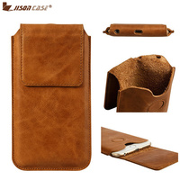 Jisoncase Mobile Phone Bag For IPhone 8 Luxury Leather Cases Magnetic Closure Bags Sleeves Case For