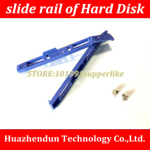 Free Shipping  10pair/lot  HDD  Slide  Rails For  Hard Disk Drive  Cage  Rack