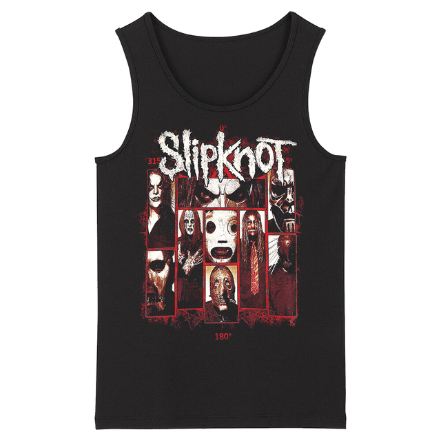 Bloodhoof Slipknot New Wave of American Heavy Metal Band Mens Top Tank Asian Size