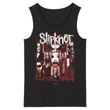 Bloodhoof Slipknot موجة جديدة من الأمريكية المعادن الثقيلة الفرقة الرجال تيشرت بدون حمالات حجم الآسيوية