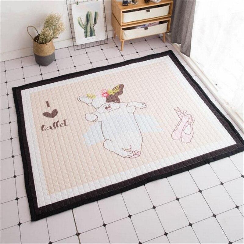 Maison floormat couverture garçons filles jeu tapis bébé enfant playmat chiens imprimer exclusif tapis 1.5 cm pique-nique tapis lit tapis cartoon - 2